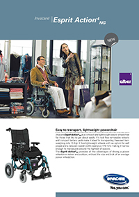 Invacare Esprit Action 4NG Brochure