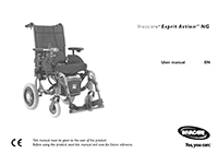 Invacare Esprit Action 4NG User Manual